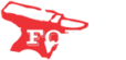 forge engineering inc logo of a red anvil with the words forge engineering in white letters in Alaska
